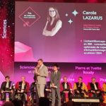 Carole Lazarus awarded by The Chancellor of University of Paris, 2019 Edition